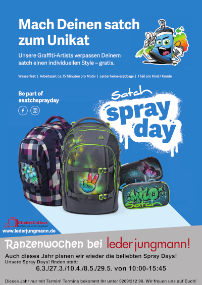 satch Spray Day 2021 Poster A1
